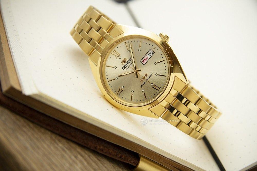 Chiêm ngưỡng vẻ đẹp của chiếc đồng hồ orient 3 sao cổ - Ảnh 3