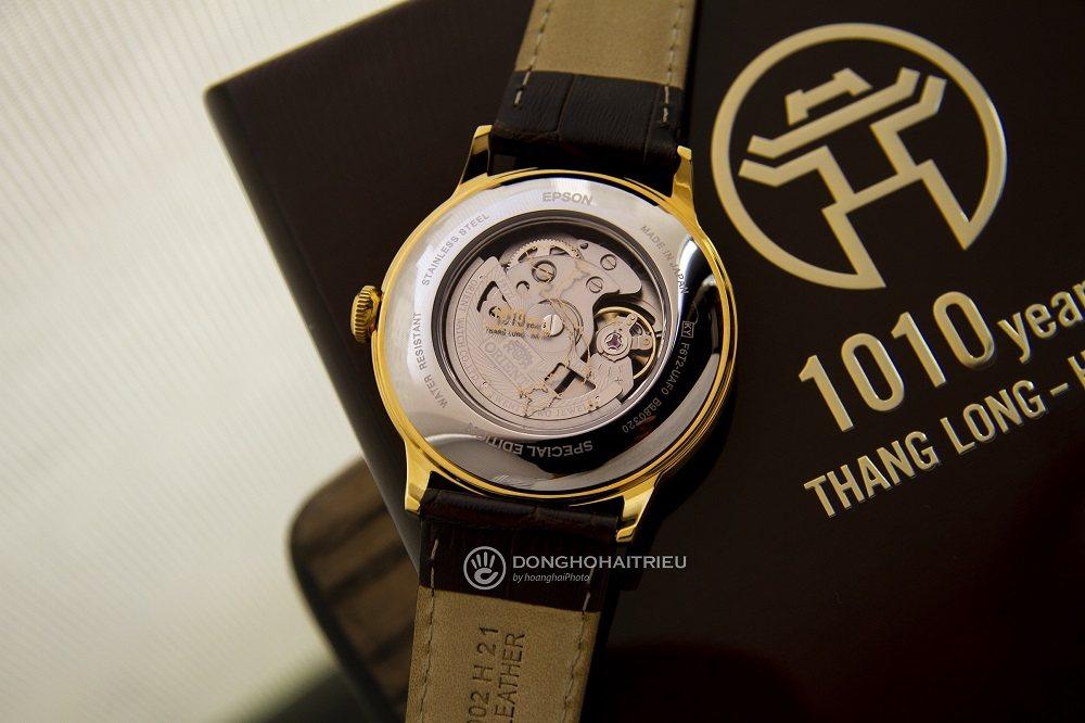 Bộ máy của chiếc đồng hồ Orient 1010 được lắp ráp 100% in-house - Ảnh 9