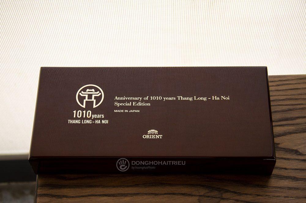 Cận cảnh chiếc hộp đựng dòng sản phẩm Orient 1010 cực sang trọng - Ảnh 23